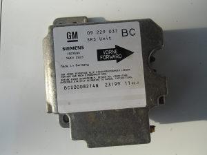 senzor airbaga opel astra g 09 229 037
