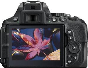 Nikon D5600 crni SRT   Objektiv 18-70mm F3.5-4 AF-S DX