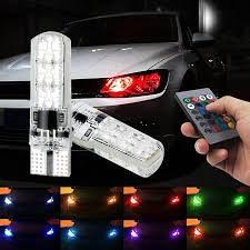 RGB T10 UBODNE LED - mjenjaju boju na daljinski