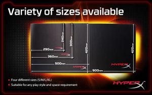 Kingston HyperX Fury S Pro Gaming Mouse Pad L