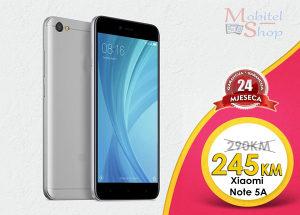 Xiaomi NOTE 5A - 2.godine garancija - poklon maskica