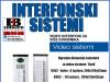 Video interfon-Spoljašnje jedinice sistema