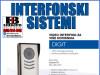 Video interfon DIGIT-Tastatura DT2