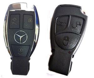 Mercedes ključevi, izrada i popravak, ključ