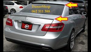 Mercedes E W212 SPOJLER GEPEKA SPOJLER SAJBE NOVO