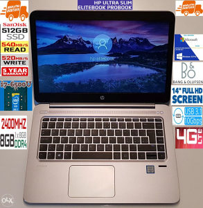 "HP 14"" EliteBook 1040 G3,512 SSD,i7 6.gen,8GB,FulHD,LTE"