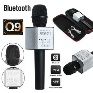 KARAOKE Bluetooth zvucnik mikrofon +USB
