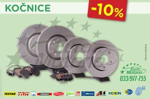 AKCIJA # Kočioni diskovi i pločice -10%