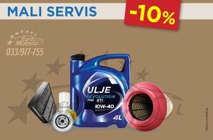 AKCIJA # Mali servis komplet - 10%