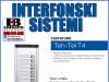 Interfon/Portafon tastatura audio T4-10
