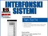 Interfon/Portafon tastatura audio T4-8