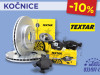 AKCIJA # Kočioni diskovi i pločice TEXTAR - 10%