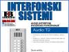 Interfon/Portafon tastatura audio T2-8
