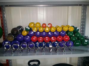 Bučice u bojama težine od 0.5kg do 6kg 062/546-546