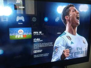PS3 160gb+orginal Fifa 2018 GTA5 i tomb raider