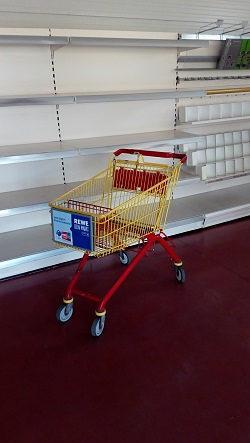 Trgovačka kolica / Kolica za trgovinu WANZL