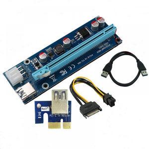 PCIe Riser Extender kartica adapter MINING 16x 1x 006c