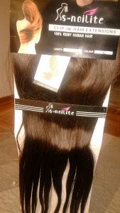 Ekstenzije S-NOILITE prirodna dlaka, tamno smeđa