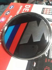 Znak amblem - BMW /// M - 75.MM.