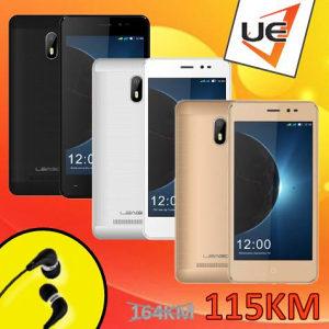 Leagoo Smartphone Z6 Black/Gold/White + POKLON