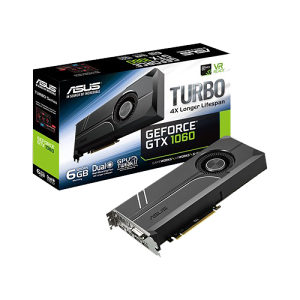 ASUS TURBO-GTX1060-6G GeForce GTX 1060 6GB GDDR5 PCIE
