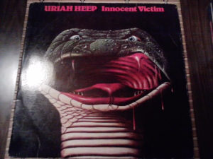 Uriah Heep ‎– Innocent Victim lp