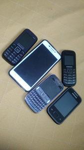 Telefoni 5 komada