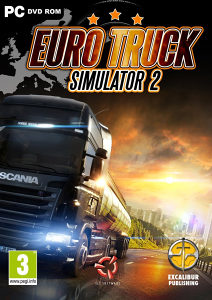 Euro Truck Simulator 2 + 55 DLC PC DVD
