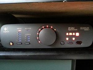 Logitech Z906 Z 906 Kontrola