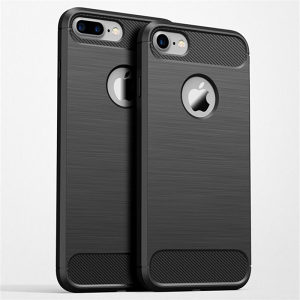 Carbon-Fiber maska za iPhone 7 i 7 Plus -Crna-