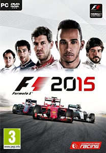 F1 2015 PC DVD