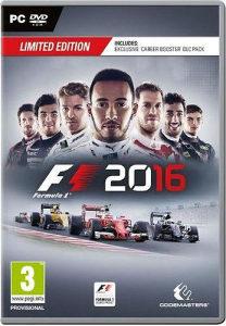 F1 2016 PC DVD