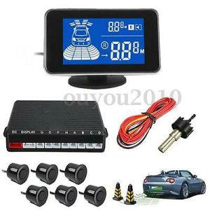 Parking senzori univerzalni, lcd display,6 senzora
