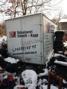Kontejner furgon