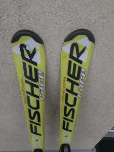 Skije Fischer 140cm.