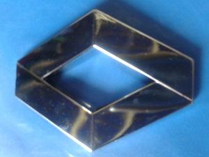Znak - RENO - 95 x 70 x 9.mm - ravni