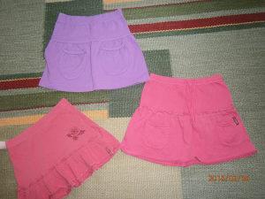 Tri pamučne suknjice,marke ESPRIT.Vel.122/128