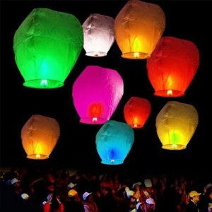 Leteci lapioni - baloni zelja
