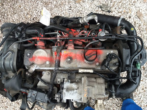 motor dizne pumpa zamajac  ford focus 1.8 tdci