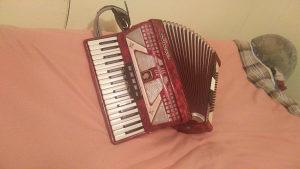 Harmonika Weltmaister-Ramona -80 basova -Extra !