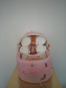 korpa od pelena za bebe
