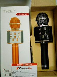 Bežični mikrofon WS-585 (Bluetooth, Karaoke)