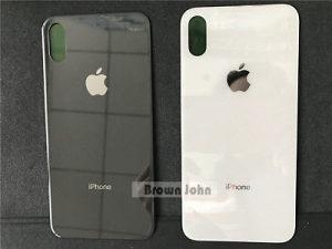 Zadnji poklopac/Staklo za iPhone X (Crni i Bijeli)
