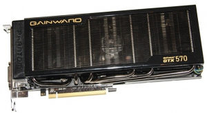 Gainward GeForce GTX 570 Phantom 1280MB 320 bit