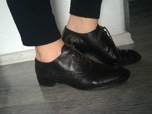 Cipele zenske 38,5, italijsnske oxfordice