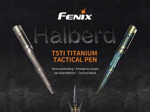 Taktička olovka Fenix T5Ti titanium