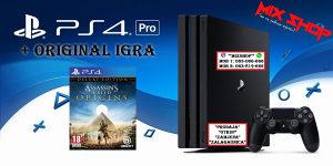 Playstation 4 PRO 1TB + ASSASSINS CREED ORIGINS PS4