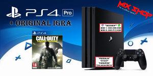 Playstation 4 PRO 1TB + CALL OF DUTY INFINITE WARFARE