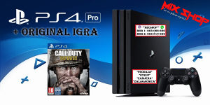 Playstation 4 PRO 1TB + CALL OF DUTY WWII WW2 PS4 1 TB