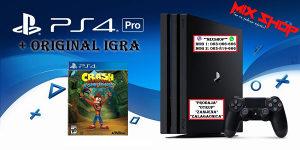 Playstation 4 PRO 1TB + IGRA CRASH BANDICOOT PS4 1 TB